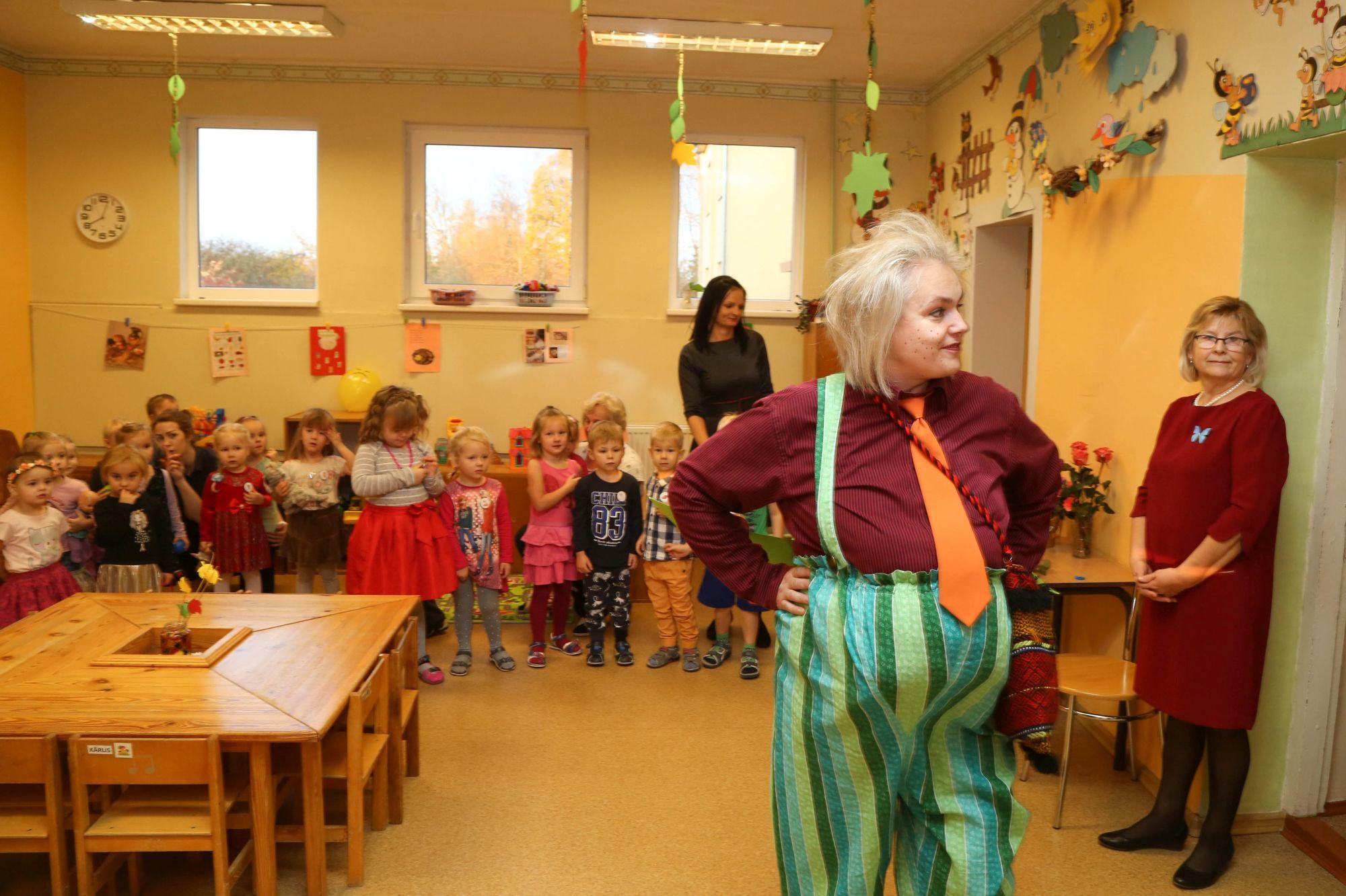 Dižstendes bērnudārza grupiņas atklāšana