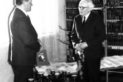 Jānis Tāle un Aleksandrs TGB 1980 g pavasarī