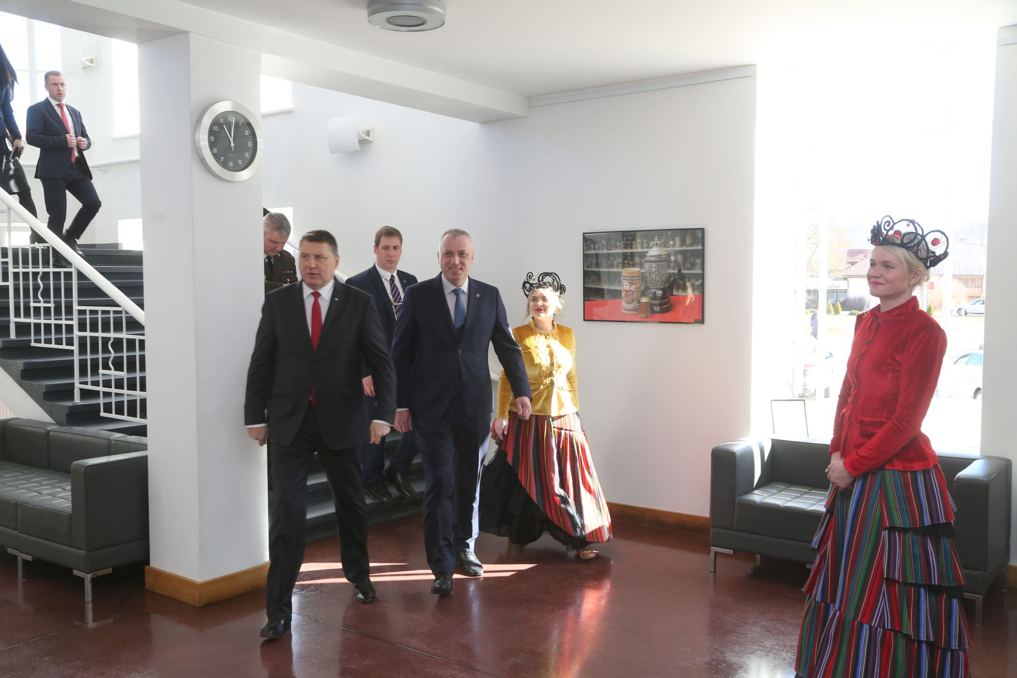 Prezidenta viesošanās Talsos