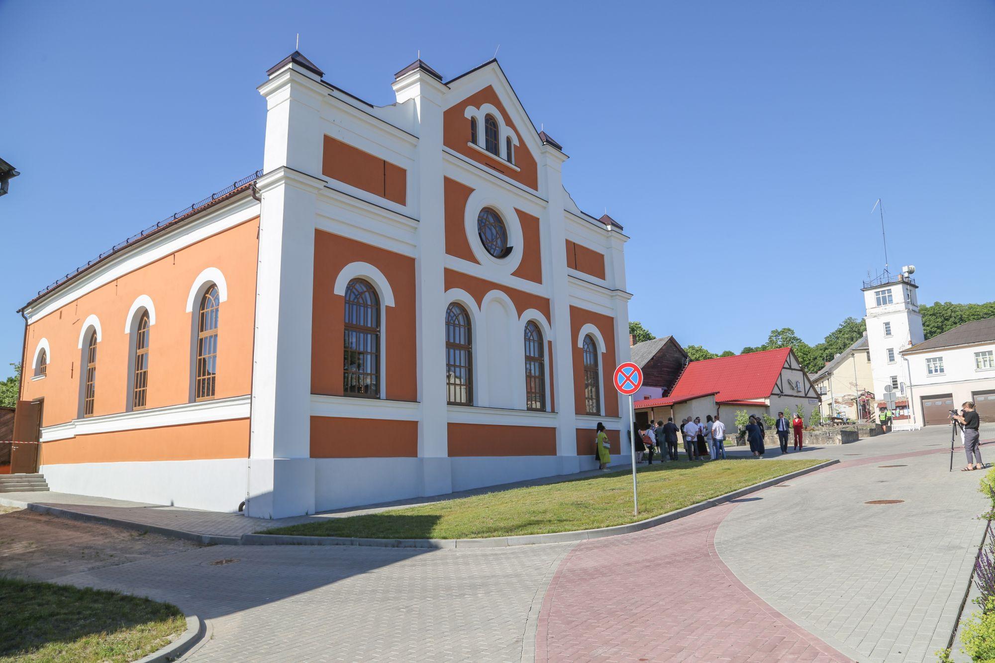 Sabiles atjaunotās sinagogas atklāšana